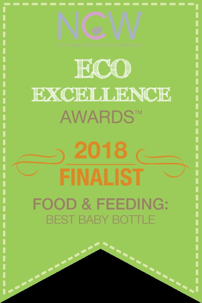 2018 Eco award finalist badge