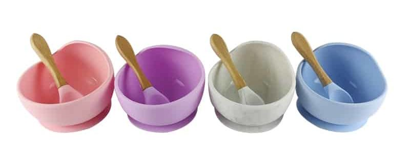Silicone Baby Suction Bowls